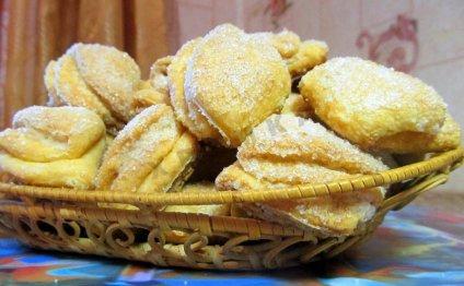 Творожные печенья треугольники