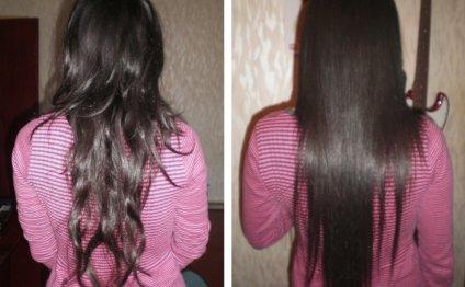 Кератиновое выпрямление волос: