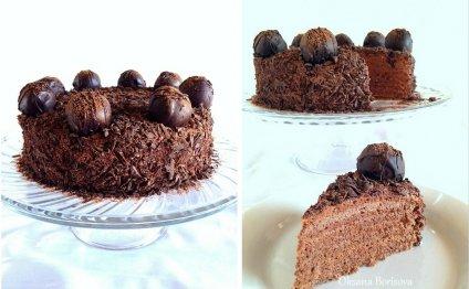 Очень вкусный тортик, рецепт с