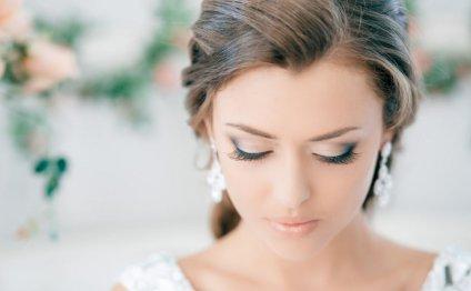 свадебный макияж и прическа на