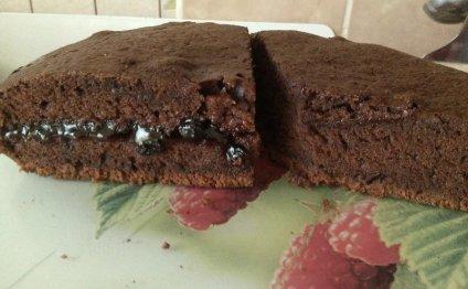 Шоколадный торт на майонезе