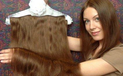Уход за накладными волосами