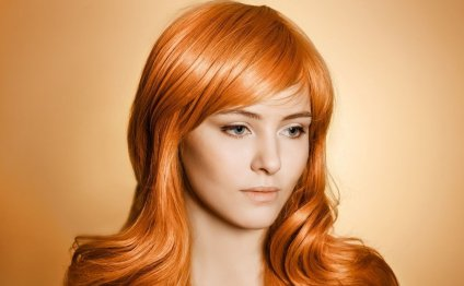 Уход за рыжими волосами