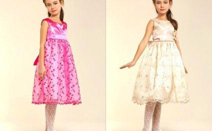 Выкройка платья для девочки 5