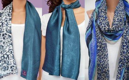 Зимой – шарф повседневная